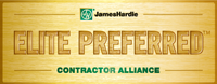 James Hardie Elite Preferred Contractor logo